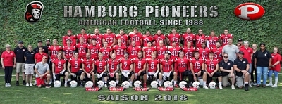 Hamburg Pioneers Team 2018 als Facebook Titelbild