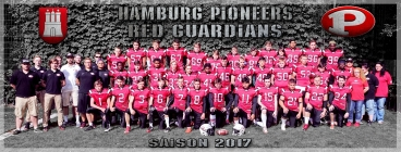 Hamburg Pioneers Red Guardians Team 2017 Titelbild 2 - Foto: H Beck